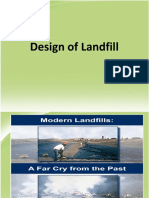 Design of Landfill