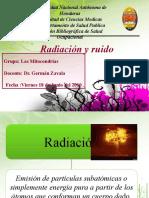 Radiacion y Ruido. Grupo Las Mitocondrias