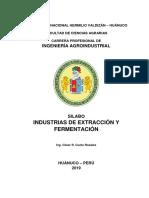 SILABO-Industrias Estraccion