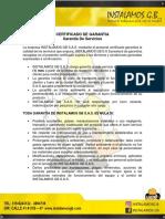Certificado Garantía- Servicio.docx