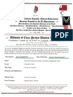 Affidavit Of Clear Perfect Allodial Land Title_Dos