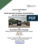 40 Multi Specialty Hospital Ward Building Sec16