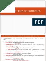 CLASES DE ORACIONES COLEGIO DE LA CRUZ IV A -B.ppt