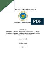 Análisis de imagen e identidad corporativa FACSO TV