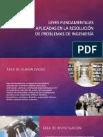 Leyes Fundamentales Aplicadas para la Resolución de Problemas de Ingeniería