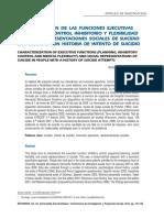 Caracterización de Las Funciones Ejecutivas Caracterización de Las Funciones Ejecutivas