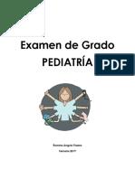 Examen de Grado Pediatria