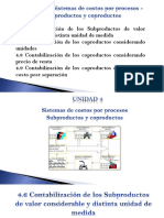 Subproductos y Coproductos