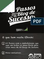 eBook 10 Passos Para Criar Um Blog de Sucesso