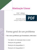 Otimização Linear-PO3-Teoria Da Otimização Linear