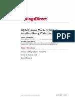 Global Sukuk Market Outlook 2018