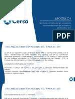MODULO 1 Normativa Internacional, Convenios, Recomend
