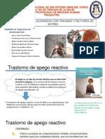 Trastorno de Apego Reactivo -1