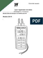 Manual Termómetro