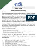 MODELO DE FICHAMENTO FICS