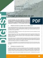 CSTC Digest n° 12 - 2012 Le bétonnage en période hivernale - Protéger le béton frais du gel.pdf
