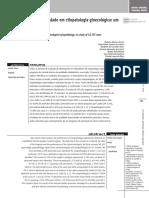 Controle Interno Da Qualidade Em Citopatologia Ginecológica - Um Estudo de 48.355 Casos