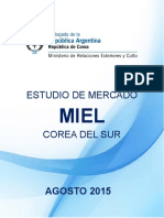 Estudio de Mercado MIEL 2015