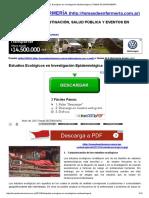 1. Excelente Estudios Ecológicos en Investigación Epidemiológica _ TEMAS de ENFERMERÍA