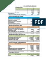 Presupuestos Para La Empresa LPQ Maderas de Colombia