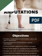 N405 Amputation Presentation