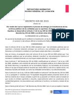 Decreto 029 de 2015