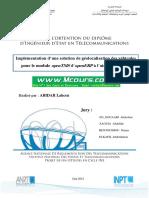 Implementation d Une Solution de Geolocalisation Des Vehicules Pour Le Module OpenTMS d OpenERP a l Aide d OpenGTS