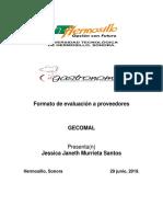 T3.2 Formato de Evaluación a Proveedores.