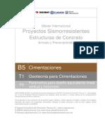 Parametros Para Diseno Equivalente Lineal Vertical y Horizontal