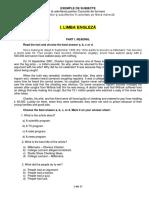 Exemple de Subiecte La Cursurile de Formare of Şi Sof Pe Filiera Indirectă