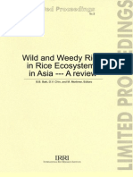 Wild and Weedy Rice in Rice Ecosystems in Asia --- A review