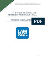 Informe Trimestal Monitoreo Social Linea Amarilla-Octubre