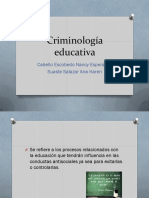 Criminología Educativa