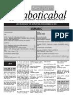 diário oficial da cidade de Jaboticabal antigo