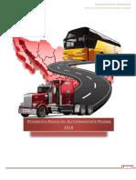 Estadística Básica Del Autotransporte Federal 2018