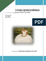 Lecturas Para Quinceañeras 2017