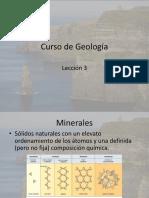 Geologia Lecciòn 3