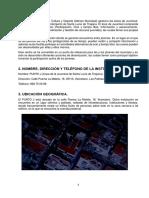 Analisis de La Institucion (Proyecto)