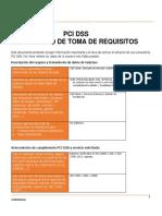 Documento de Toma de Requisitos PCI DSS