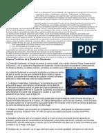 Historia Departamento Guate