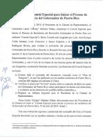 Informe de juristas sobre Ricardo Rosselló