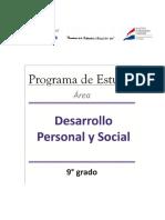 9° Desarrollo Personal y Social