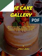 A galeria dos bolos