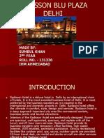 Radisson Blu plaza hotel Delhi