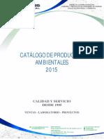 Catálogo Div Medio Ambiente