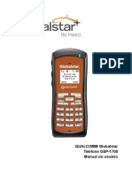 QUALCOMM Globalstar Telefone GSP-1700 Manual Do Usuário