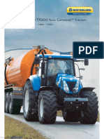 specification new holland t7000
