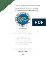 Estudio Técnico Para La Ampliación de La Planta de 3 600 a 4 200 Tmsd en La Unidad Minera Yauliyacu v.2.0 3