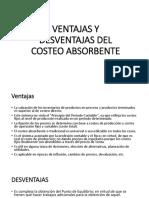 exposición costo absorvente