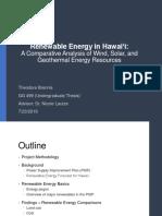 Renewable Energy in Hawaiʻi